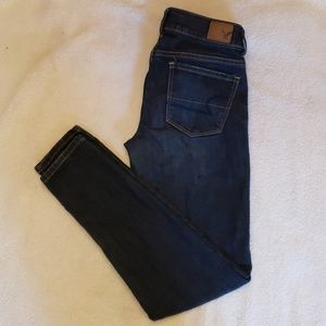 Dark Wash Super Stretch Jeggings